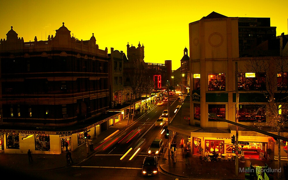 Sunset City by Malin Nordlund