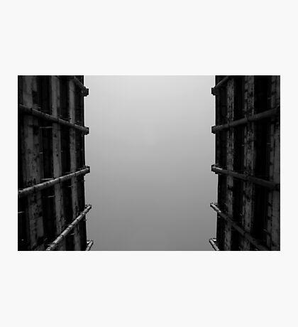Looking Up v5 - Shek Kip Mei Estate, Hong Kong Photographic Print