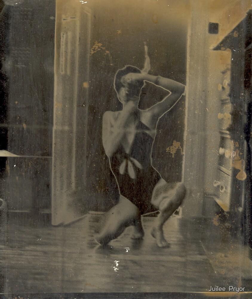 Moi in the mirror.  by Juilee  Pryor