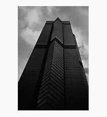 Looking Up v6 - The Centre, Hong Kong Photographic Print
