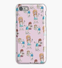 Sassy girl squad iPhone Case/Skin