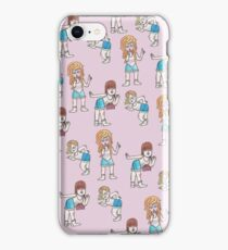Sassy girl squad iPhone Case/Skin