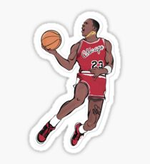 michael jordan sticker Sticker