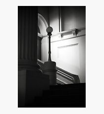 Ethereal pillar light Photographic Print