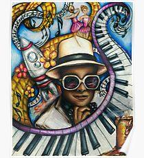 Elton John Classics Poster