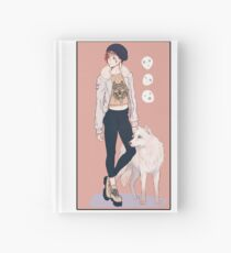 The Princess and Wolf Aesthetic Hardcover Journal