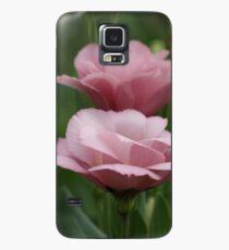 Staubige Rose Hülle & Klebefolie für Samsung Galaxy