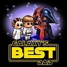 GALAXY'S BEST DAD Pooterbellies by Pat McNeely