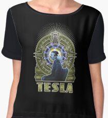 Nikola Tesla Women's Chiffon Top