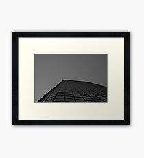 Looking Up v7 - Melbourne CBD Framed Print