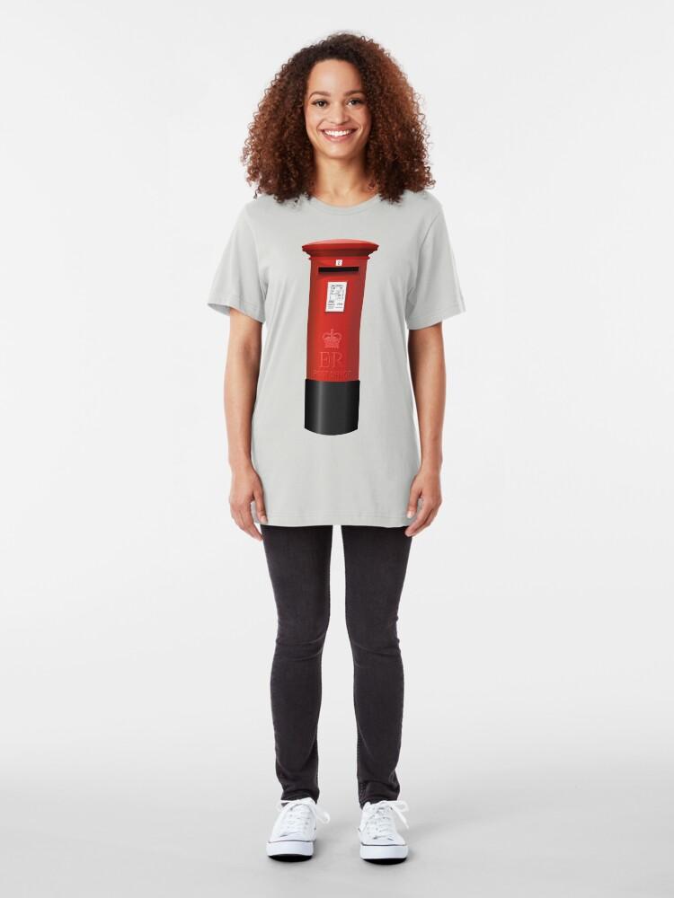 Alternate view of NDVH Pillar Box Slim Fit T-Shirt