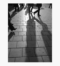 Shoppers Photographic Print