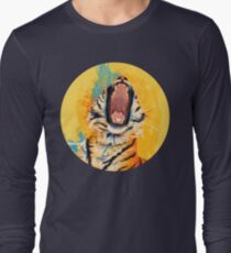 Wild Yawn - Tiger portrait T-Shirt