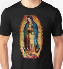 a22513e02 Our Lady of Guadalupe Tilma Replica Slim Fit T-Shirt