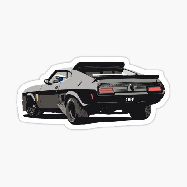Interceptor Mad Max - el último de V8 - MFP Pegatina