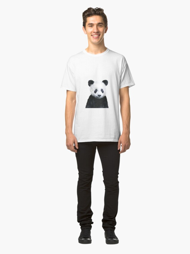 Alternate view of Little Panda Classic T-Shirt