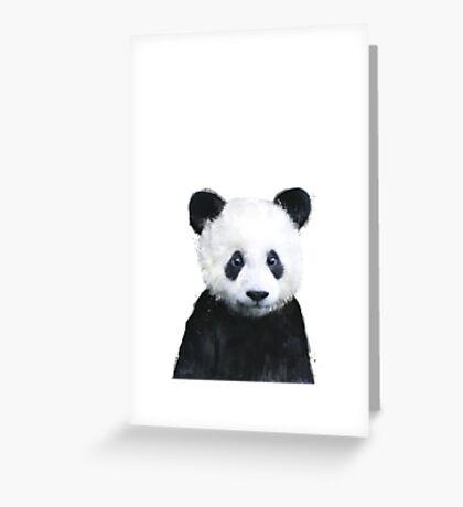 Little Panda Greeting Card