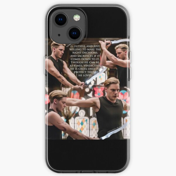 Jace Wayland iPhone Soft Case