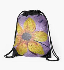 Madonna' s  Superbowl Flower Drawstring Bag