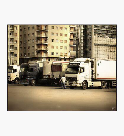 Naples Trucks Photographic Print