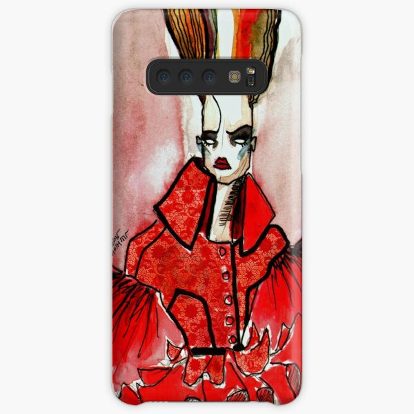 RED LACE, HOSH Samsung Galaxy Snap Case