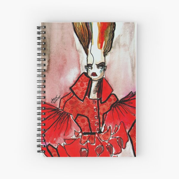 RED LACE, HOSH Spiral Notebook