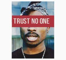 2PAC Trust No One Supreme SALE! | Unisex T-Shirt
