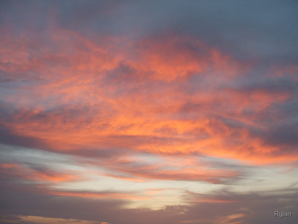 fire in the sky by Ryian