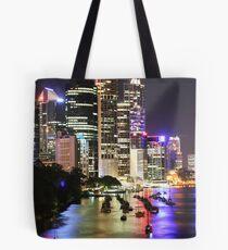 Bisbane river/city Tote Bag
