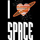 I Heart Space by TenTimesKarma