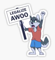 Legalize Awoo Sticker
