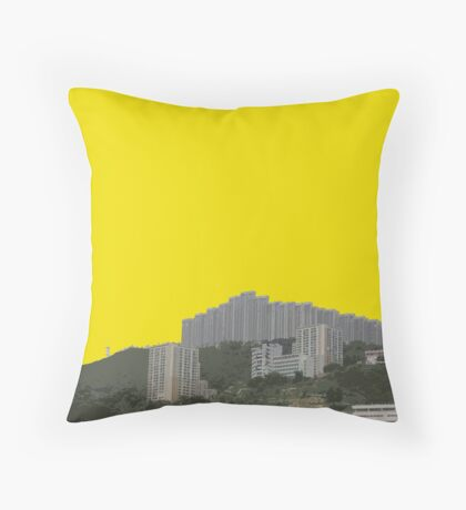 uphill Throw Pillow