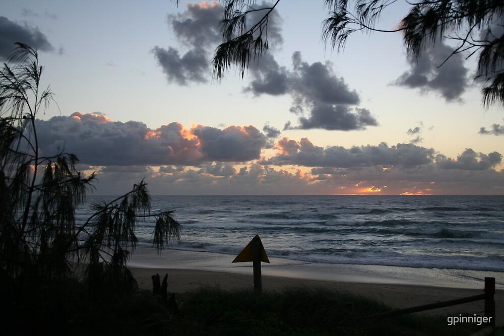 Sunrise Peregian Beach by gpinniger