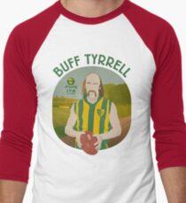 Buff Tyrrell - Woodville (for light shirts only) Men's Baseball ¾ T-Shirt