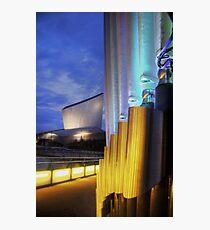 Light sticks Photographic Print