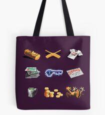 Monkey Island Items Tote Bag