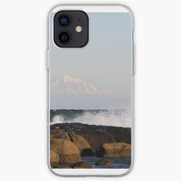 Reef Bay with a little roll on that rock  iPhone Soft Case
