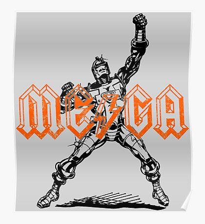 Mega Punk Robot Poster
