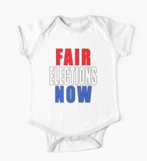 Fair Elections Now One Piece - Short Sleeve
