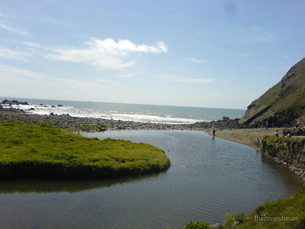 Cornish Coast - Duckpool by thecornishman
