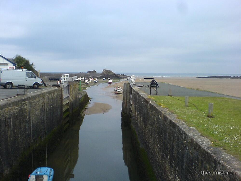 Cornish Coast - Bude Lock by thecornishman