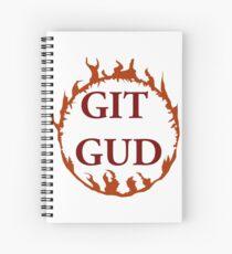 Git Gud ! Spiral Notebook