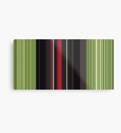 Red Green Metal Print