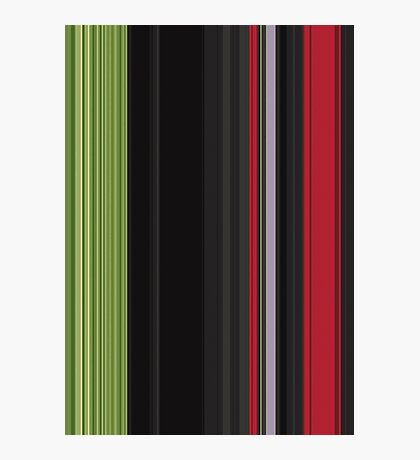 Red Green Card Photographic Print