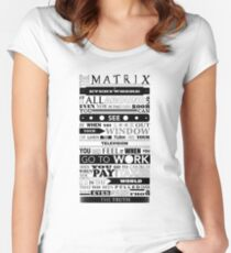 The Matrix Women's Fitted Scoop T-Shirt