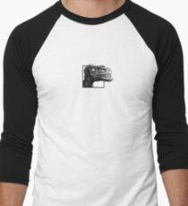 Crazed Raptor Men's Baseball ¾ T-Shirt