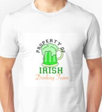 PROPERTY OF IRISH DRINKING TEAM Unisex T-Shirt