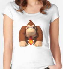 Donkey Kong Country Women's Fitted Scoop T-Shirt