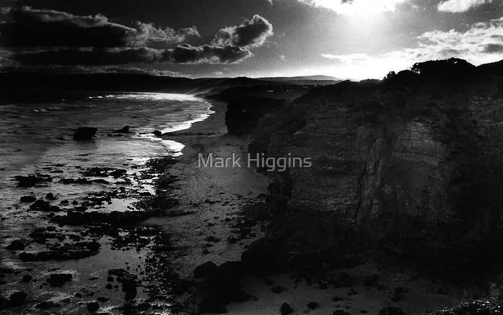 Last Light Cape Otway by Mark Higgins