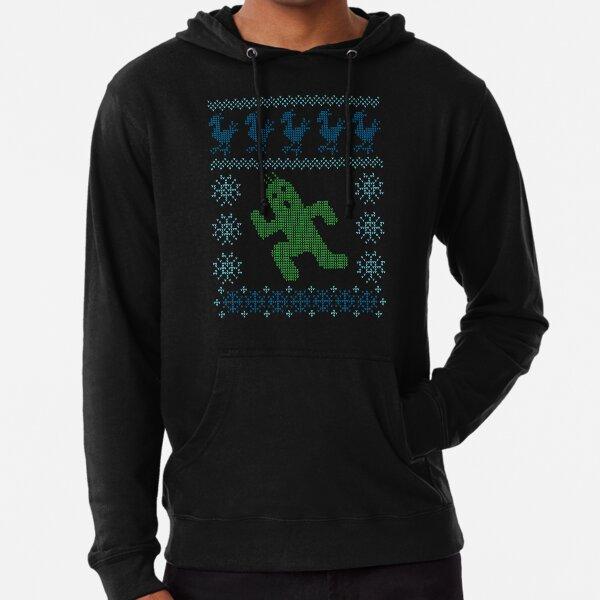Christmas Cactus Lightweight Hoodie